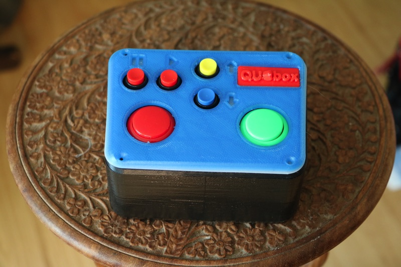 QU-box Qlab Controller